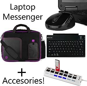 Case for Lenovo IdeaPad Legion ThinkPad Yoga with Wireless Keyboard,Mouse,HUB
