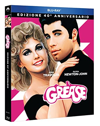 Grease (Edizione 40 Anniversario) [Italia] [Blu-ray]: Amazon ...