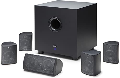 ELAC Cinema 5 Home Theater 5.1 Channel Speaker System HT-C131W-K