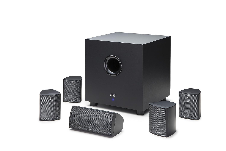 ELAC Cinema 5 Home Theater 5.1 Channel Speaker System (HT-C131W-K)