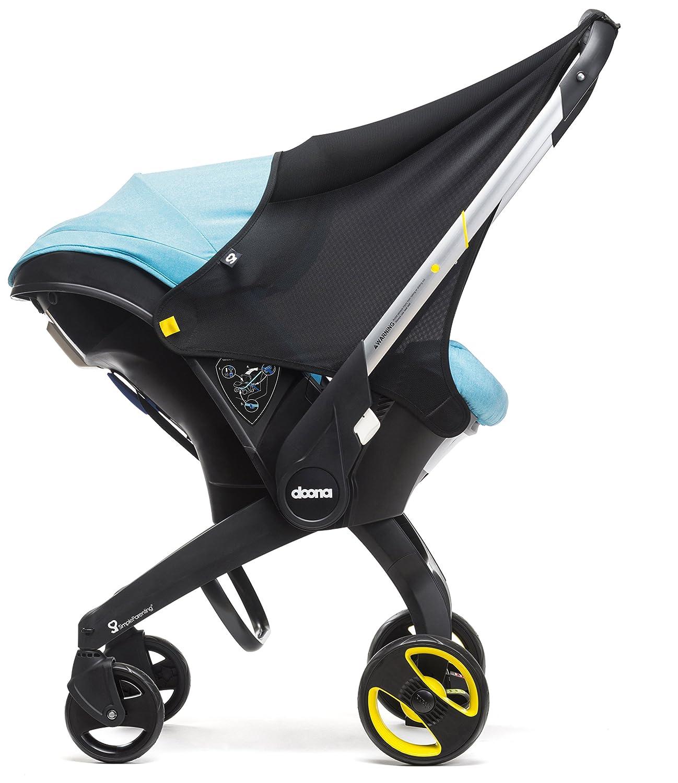 Einfache Parenting–Sonnenschirm Sonnendach für Belagerung von Auto Doona schwarz Simple Parenting SP109-99-001-099