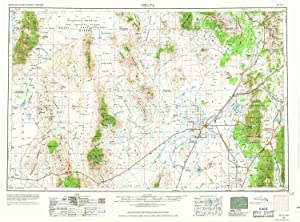 YellowMaps Delta UT topo map, 1:250000 Scale, 1 X 2 Degree, Historical, 1953, Updated 1969, 22.1 x 29.9 in