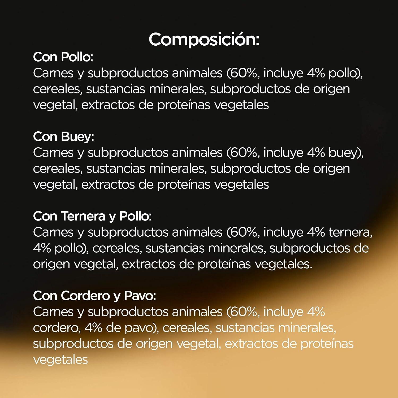 Cesar Comida Húmeda para Perros, Selección de Clásicos en Paté, Multipack (Pack de 6 x 4 tarrinas x 150g)