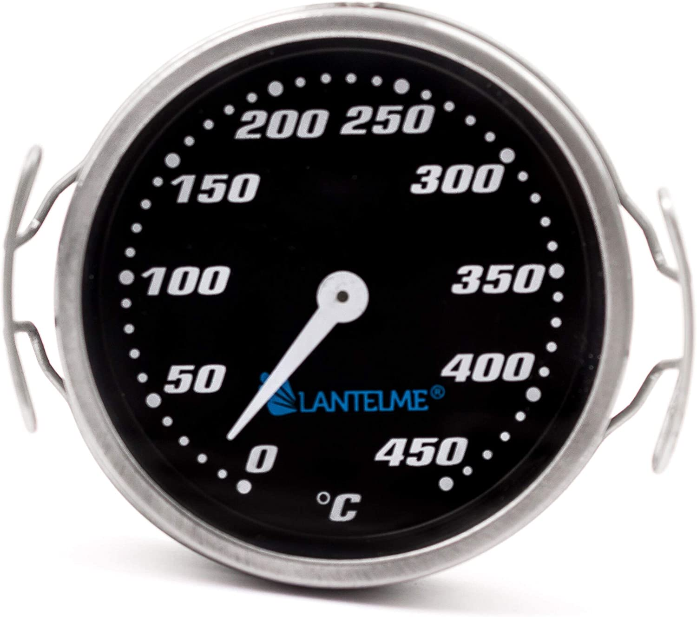 Termómetro de la parrilla Termómetro 450 °C analógico Ahumador Parrilla de la parrilla Superficies de la parrilla Temperatura 6012