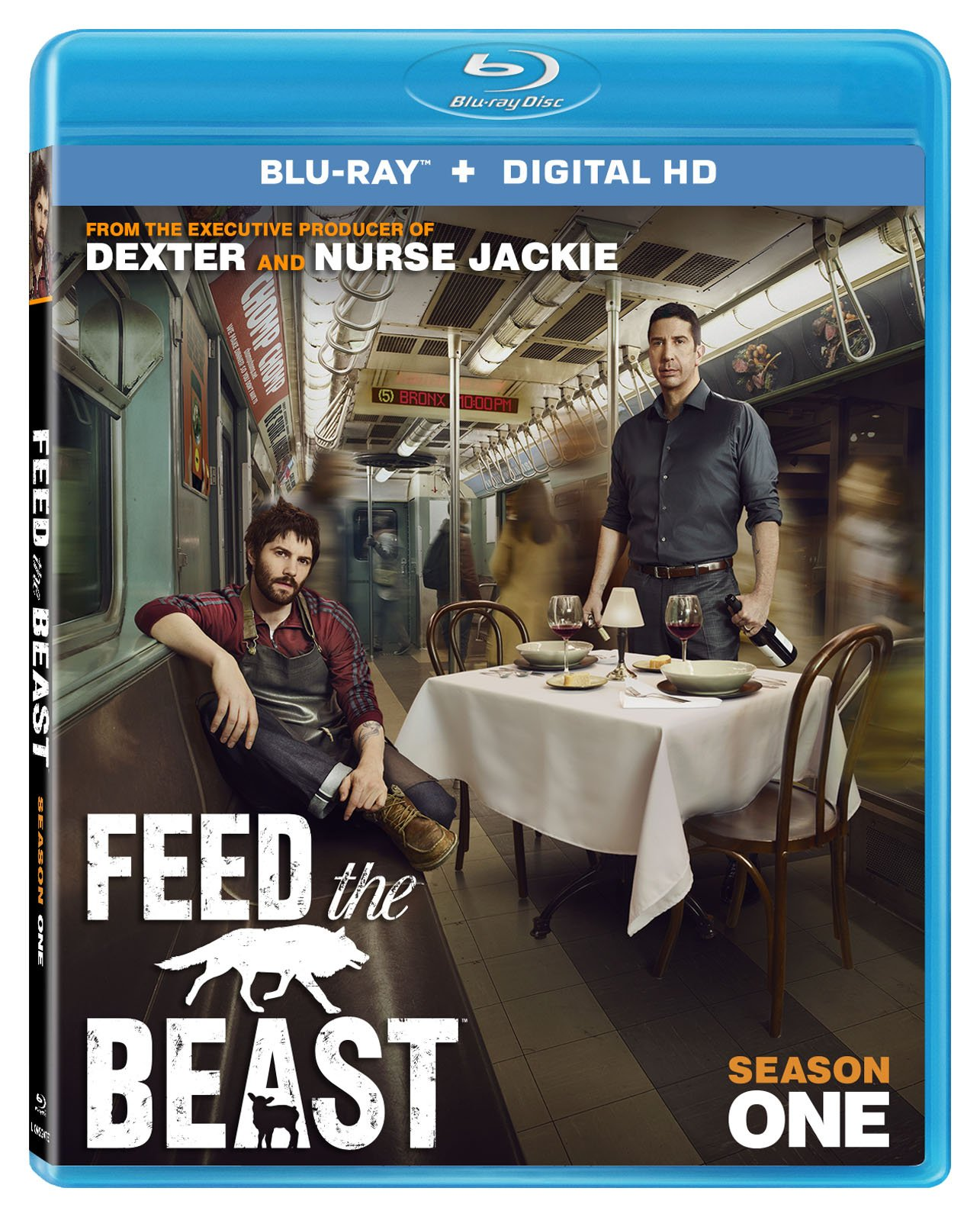 Blu-ray : Feed The Beast: Season 1 (2 Pack, 2 Disc)