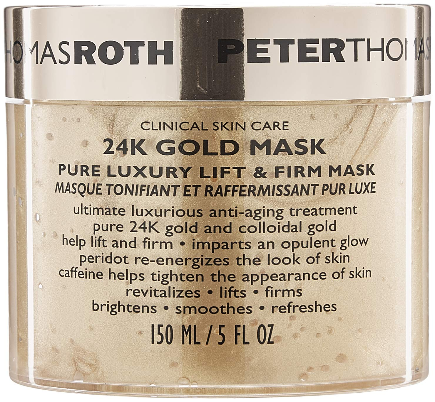 Amazon Peter Thomas Roth 24K Gold Pure Luxury Lift and Firm