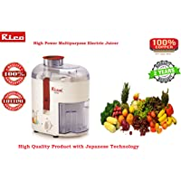 Rico Electric juicers Fruits and Vegetables Electric Portable 100% Copper Motor Japanese Technology European Design JE1401