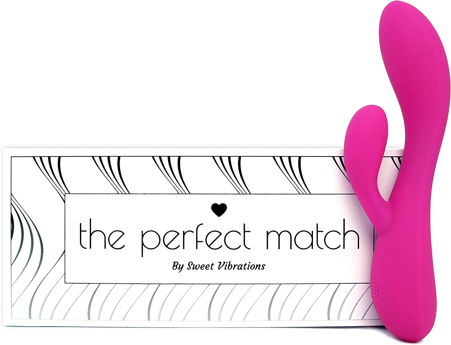The Sweet Vibrations The Perfect Match travel product recommended by Sarah Melancon on Pretty Progressive.