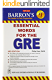 Barrons 333 high frequency words with meanings for GRE
