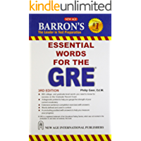 Barrons 333 high frequency words with meanings for GRE (English Edition)