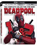 Deadpool 4k 1+2 UHD+Bluray UnRated + Theatre Limited Edition Bluray Region 6 Disk Free Available Now!!!
