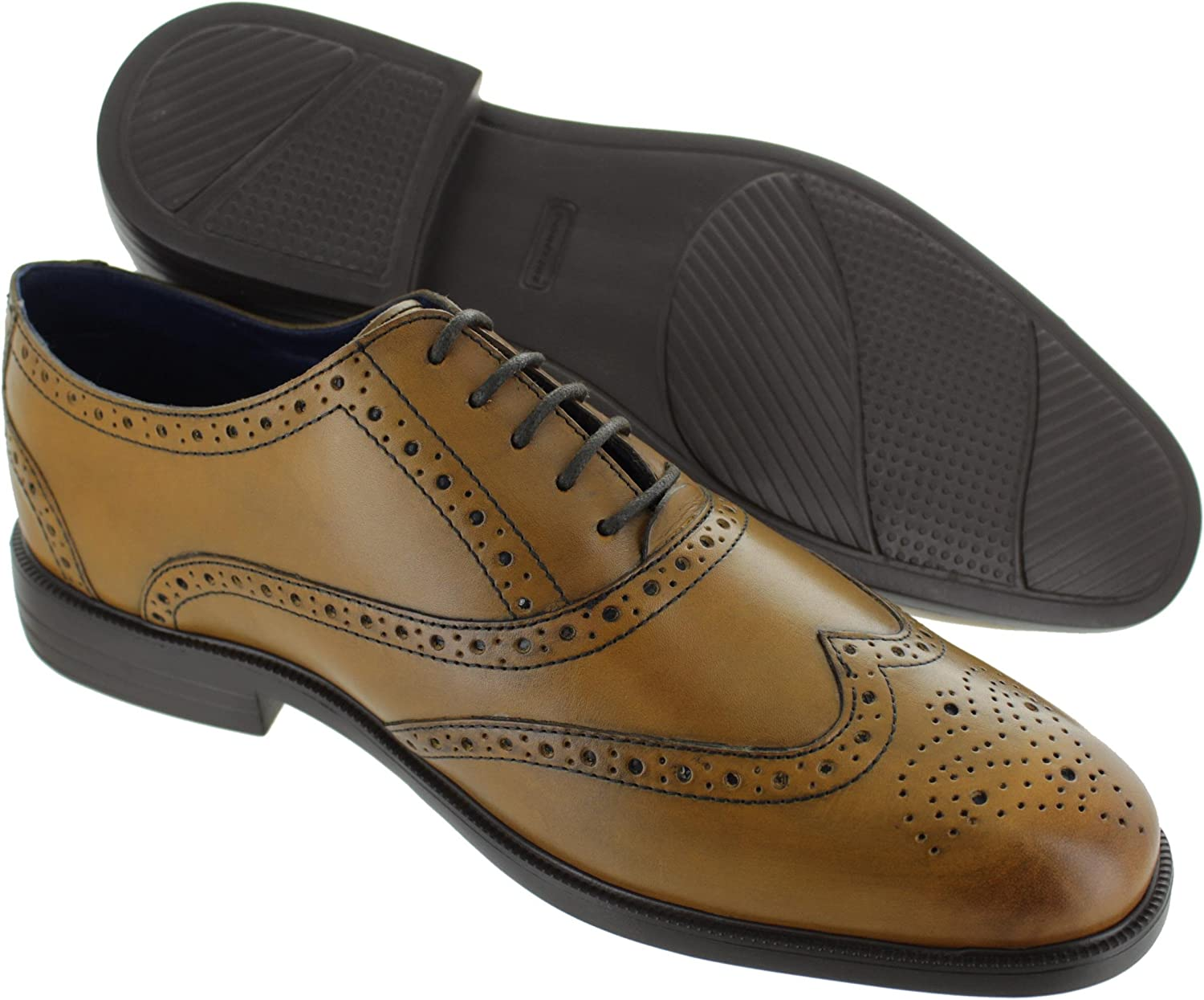 PADDERS Oxford Mens Wide Lace-Up Shoe