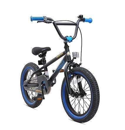 BIKESTAR Bicicleta Infantil para niños y niñas a Partir de 4 años | Bici 16 Pulgadas
