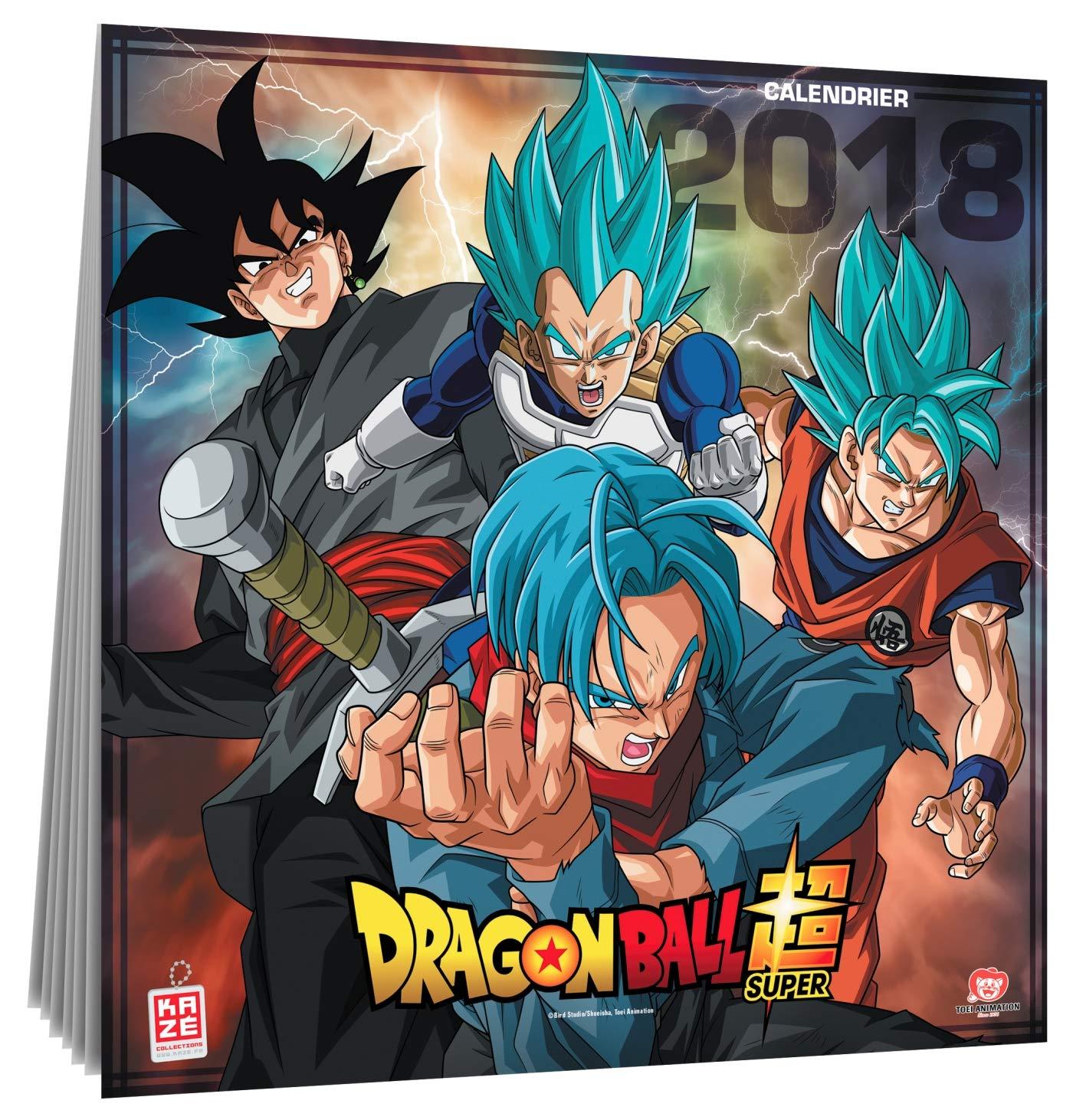Calendario Dragon Ball Super 2018 (idioma español no ...