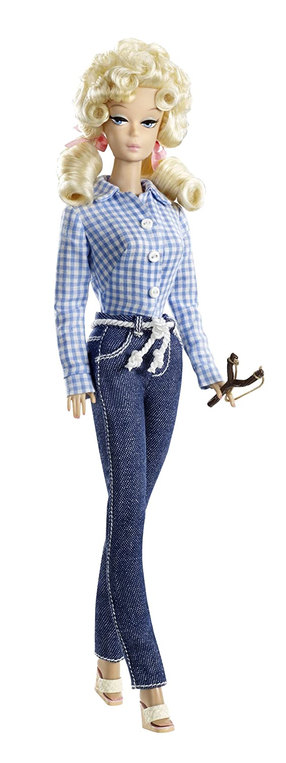 Amazon.com: Barbie Collector Beverly Hillbillies Ellie May Doll ...