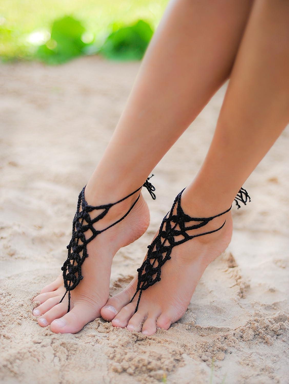 Black Barefoot Sandal 3b3eaa26c9f5