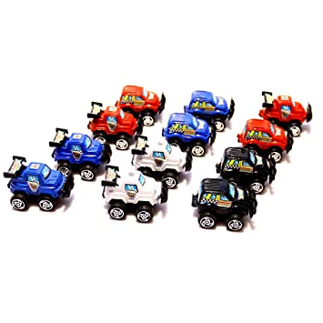 Amazon Com Dazzling Toys Pull Back Let Go Race Cars Pack