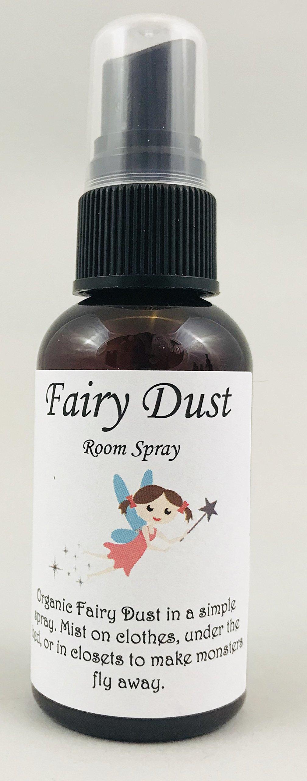 La Pixie Wellness Monster Spray Fairy Dust, Kids Room Spray-Organic Pure Essential Oils,Fairy Dust Room Spray, Keep Monsters Away, Lavender Essential Oil, Gift for Kids, Bedtime Story, 2 oz