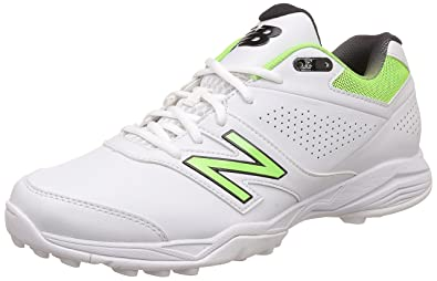 New Balance Men's 4020 V3 White Cricket Shoes - 11 UK/India (45.5 EU ...