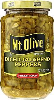 product image for Mt Olive Pickle Co Mt Olive Diced Jalapeno Pepper, 12 oz