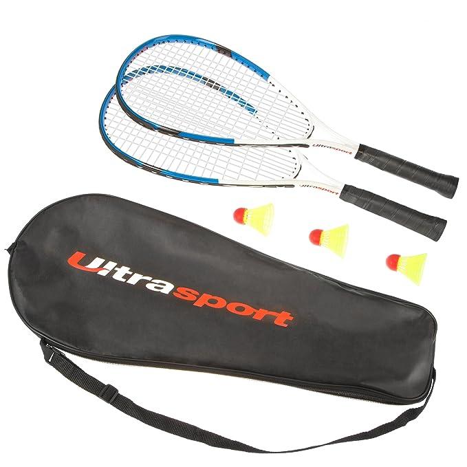 1 opinioni per Ultrasport Set Fastball Turbo-Badminton, set Badminton con 2 racchette e 3