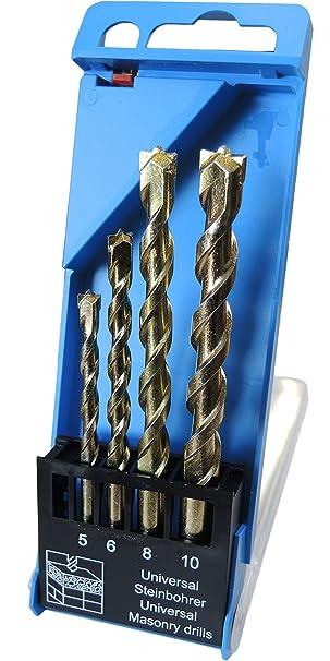 9,0 mm Universal Betonbohrer mit Hartmetall Platten bestückt Steinbohrer