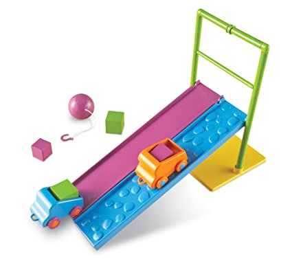 Learning Resources STEM Force Motion Activity Set 20 Pieces