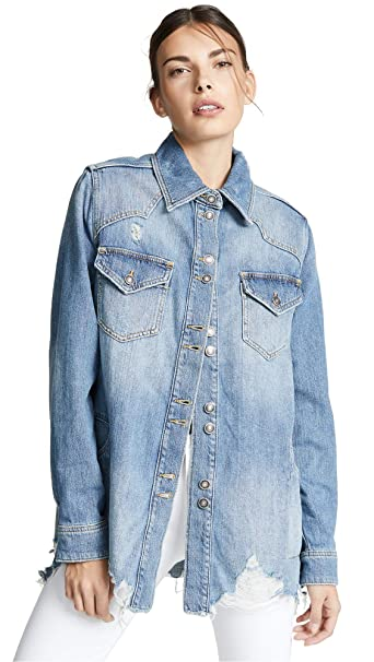 Free People Women's Moonchild Shirt Jacket