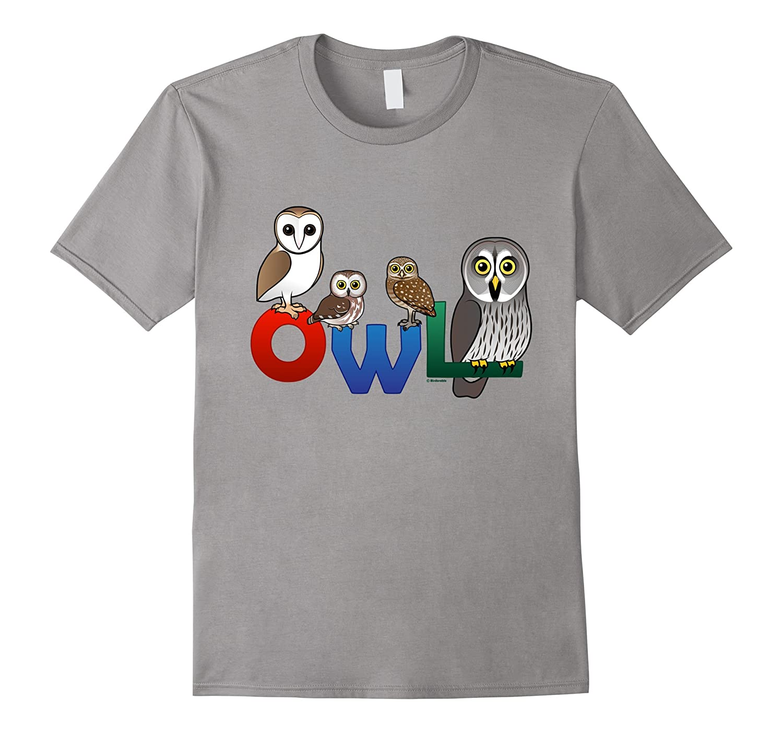 Birdorable Colorful Owl T-Shirt-BN