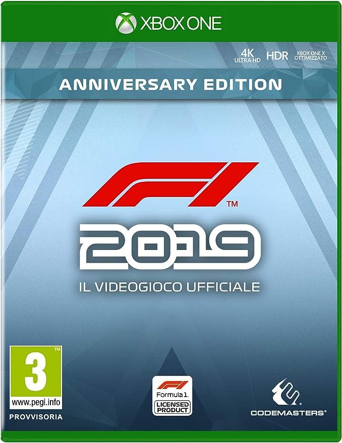 F1 2019 Anniversary Ed. - Day-One - Xbox One [Importación italiana]: Amazon.es: Videojuegos