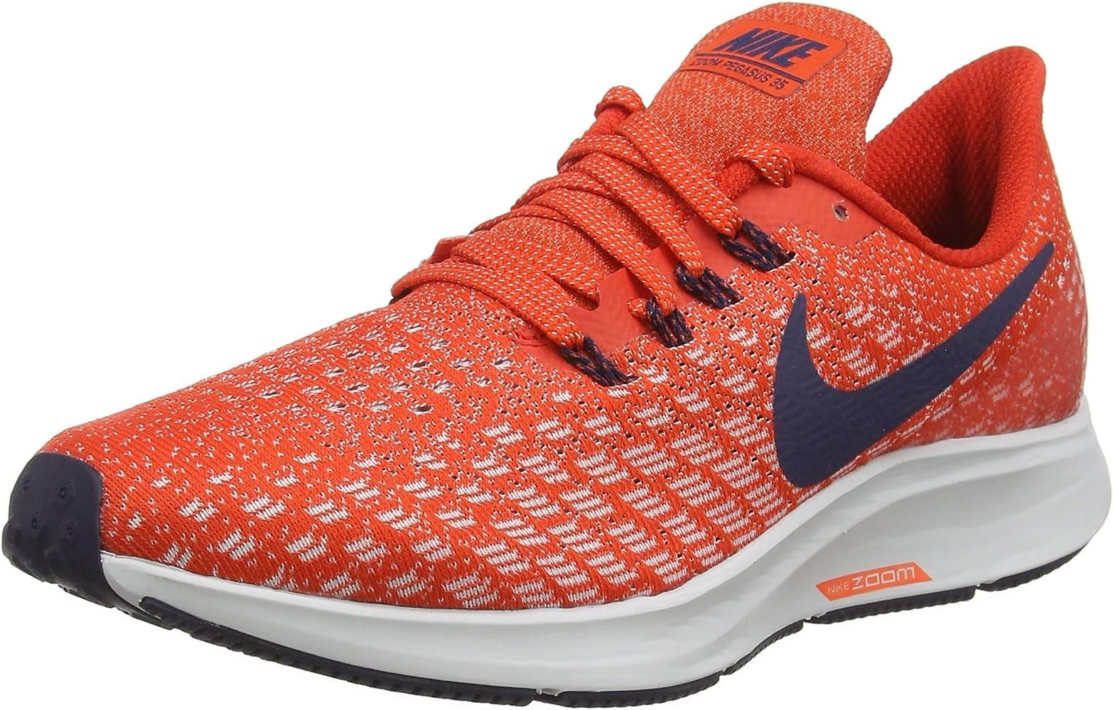 Nike Air Zoom Pegasus 35, Zapatillas de Running para Hombre, Rojo ...