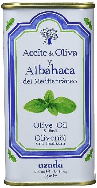 Azada Aceite de Oliva y Albahaca - 250 ml