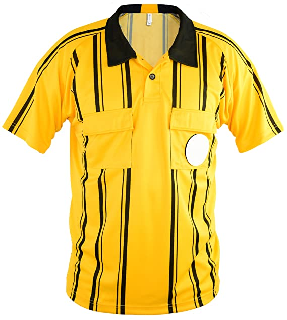 bbc3f986b9e Soccer Referee Jersey - for Soccer Referee Uniforms - by Mato   Hash  Amazon.ca   Clothing   Accessories