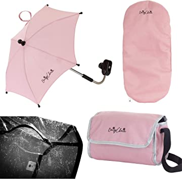 Daisy Chain Paquete de Accesorios de Carrito para mu/ñecos Tejido Classic Pink