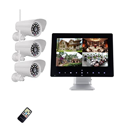 9 pulgadas Half Touch Monitor 720P HD Radio Sistema de Video Vigilancia Tiempo real, 3