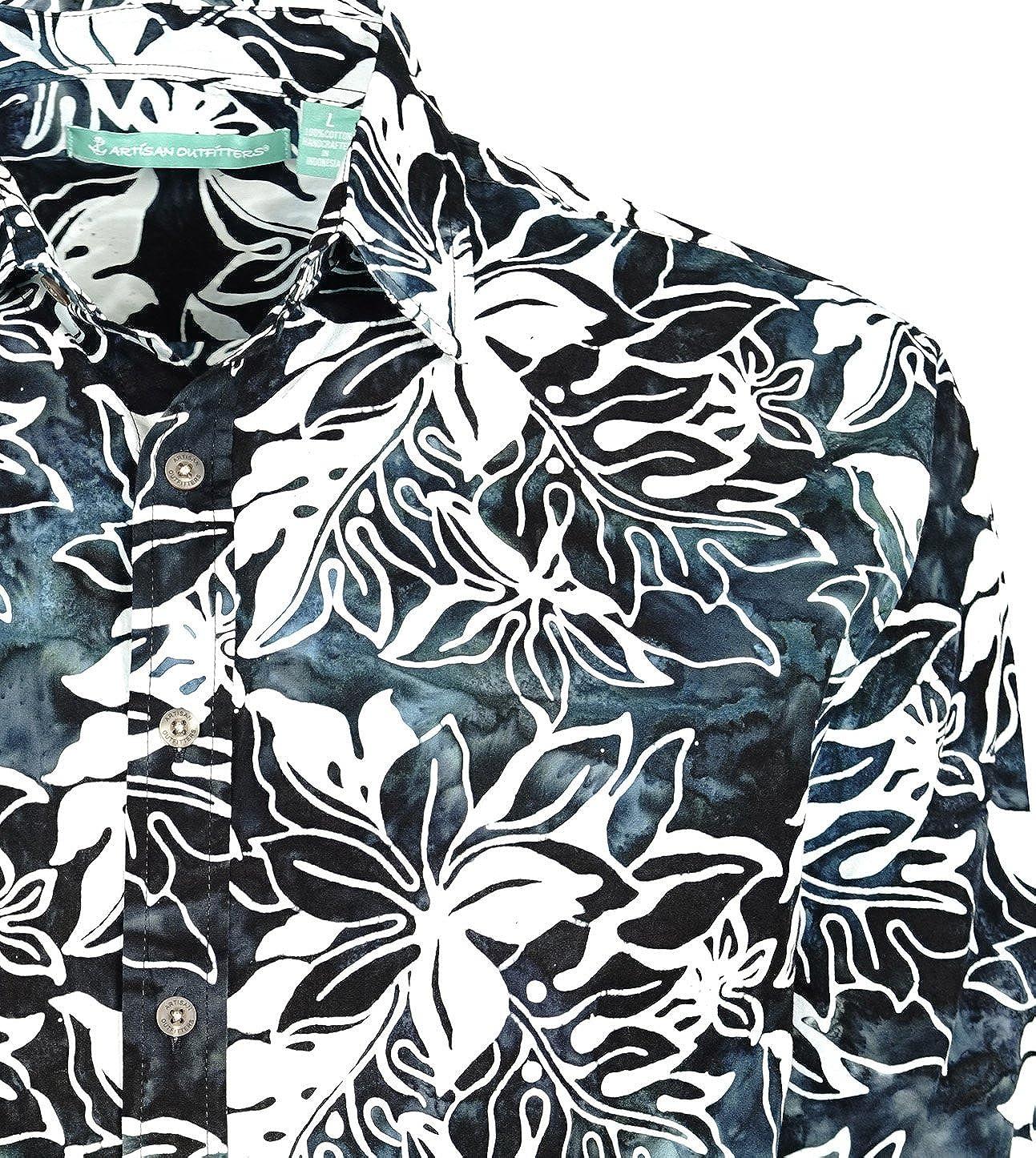 Artisan Outfitters Mens Laguna Batik Cotton Long Sleeve Shirt