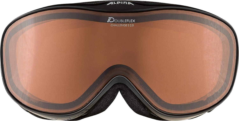 ALPINA Challenge Ski Goggles S 2.0 DH Multi-Coloured Rahmenfarbe   Blacktransparent c5e70eb5843
