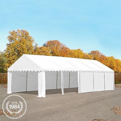 3 x 4 - 8 x 12 m heavy duty PVC tienda de almacenamiento con Groundbar cobertizo temporal refugio tela almacén edificio con construcción de acero ...