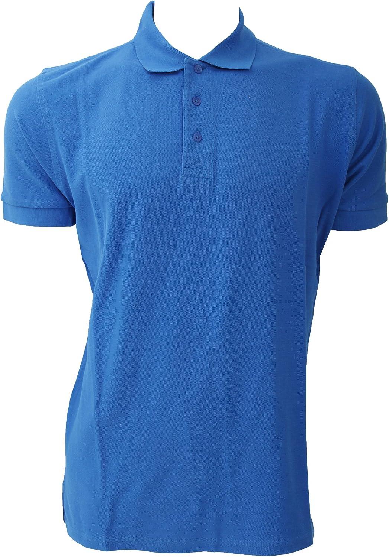 Jerzees Colours Polo de manga corta 100% algodón Modelo 577 Hombre ...