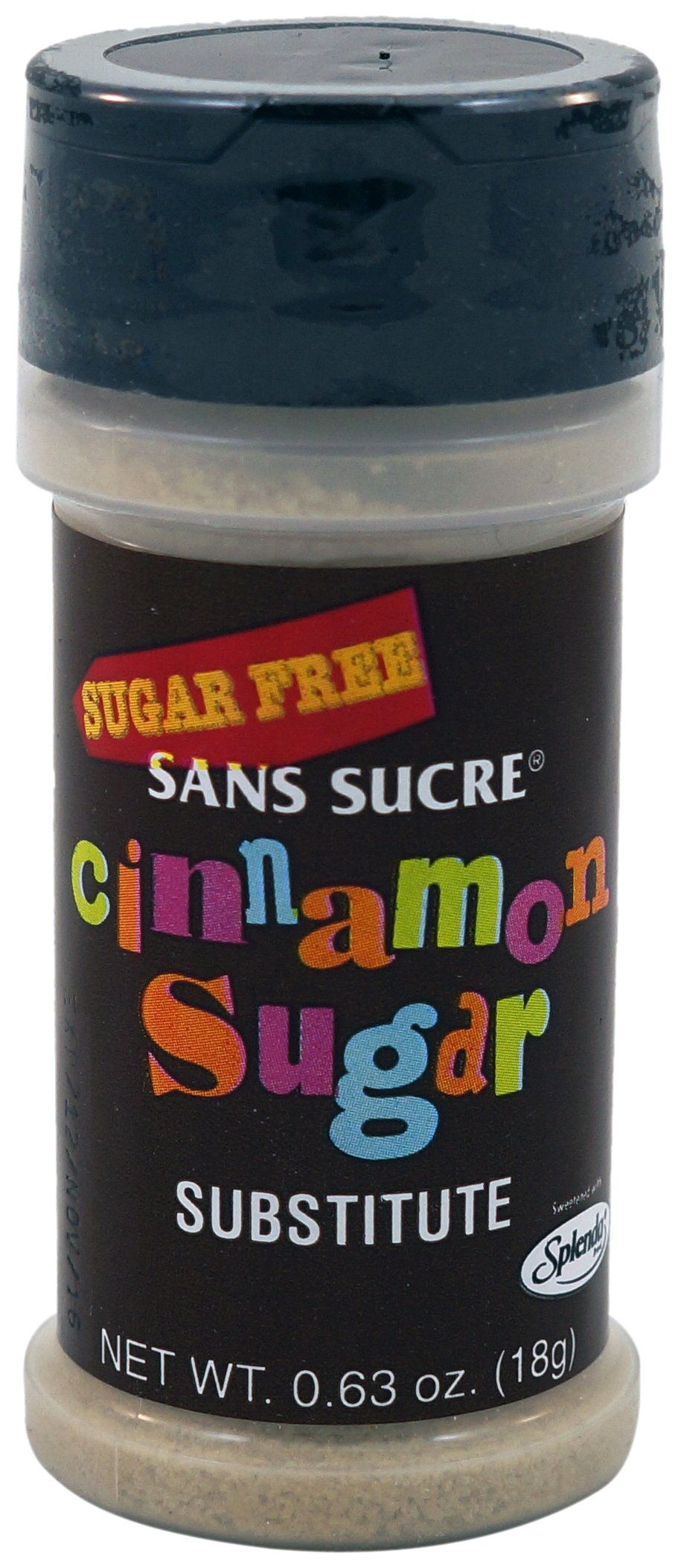 San Sucre Cinnamon Sugar Substitute, 0.63-Ounce Boxes (Pack of 6)