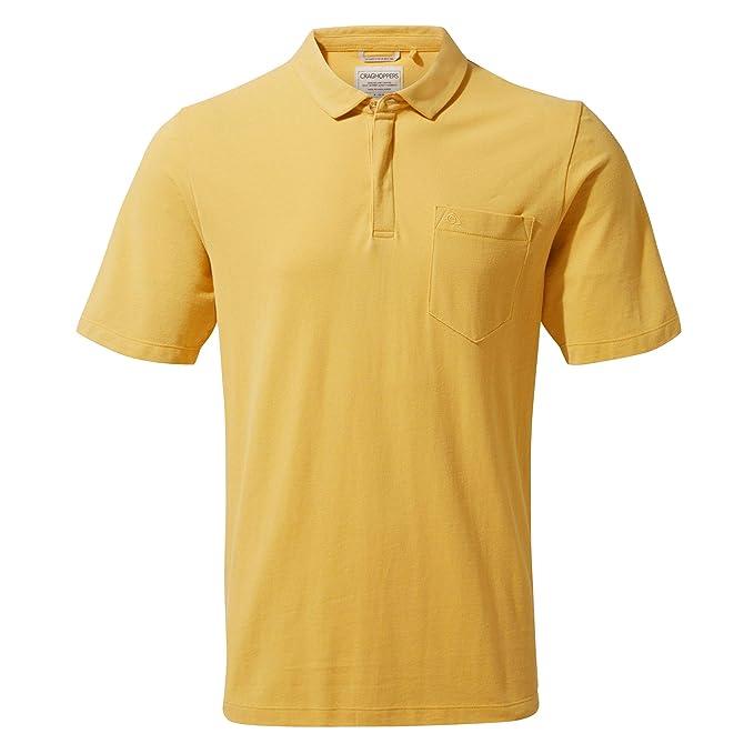 Craghoppers Meran Short Sleeved Polo Camisa, Hombre: Amazon.es ...