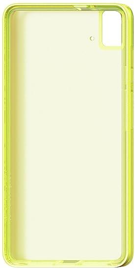 bq Gummy - Carcasa para bq E5S, color lima