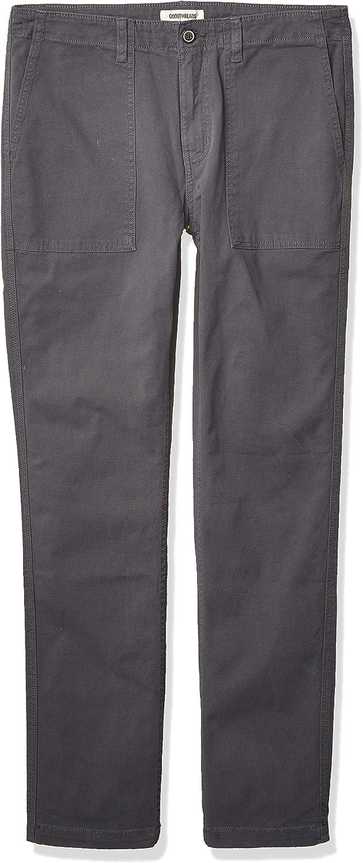 Goodthreads Mens Slim-fit Porkchop Pocket Stretch Canvas Casual trousers Brand