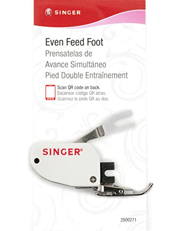 SINGER Even Feed Walking Presser Foot for Quilting or Thick Fabric Sewing on Low-Shank
