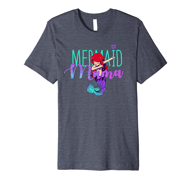 Mermaid Mama Shirt Womens Birthday