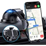 【Ultra Steady】Phone Holder for Car【1 Hand Easy Use】4 in 1 Car Phone Holder Mount for Dash/Windshield/Vent/Desk iPhone Car Hol