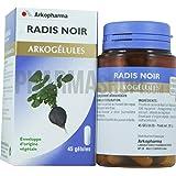 Arkopharma Phytothérapie Standard Arkogélules Radis Noir Flacon de 45 Gélules