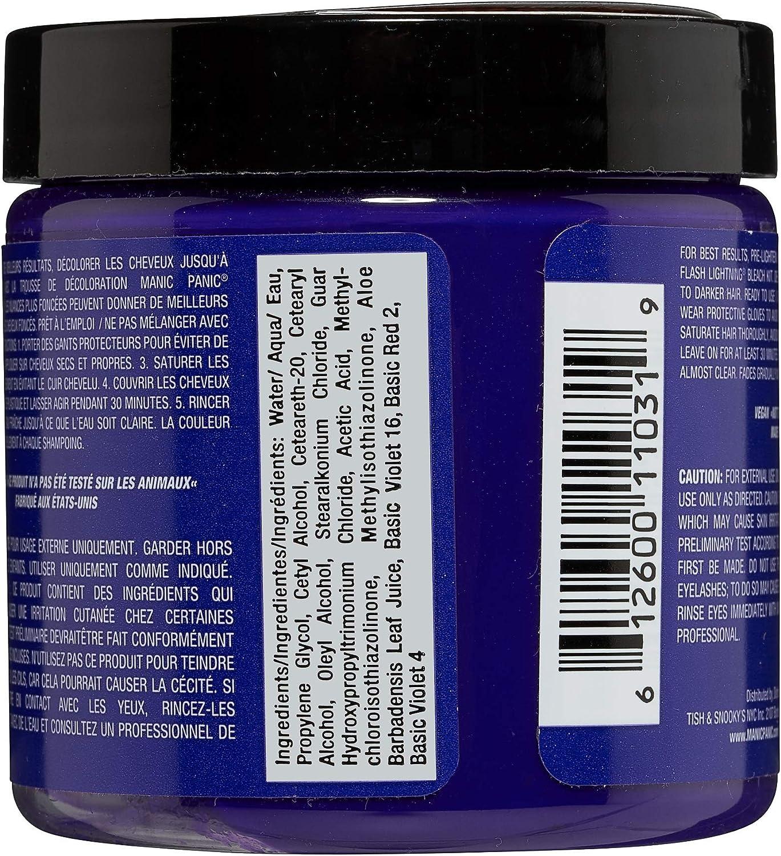 Manic Panic - Ultra Violet Classic Creme Vegan Cruelty Free Semi-Permanent Hair Colour 118ml