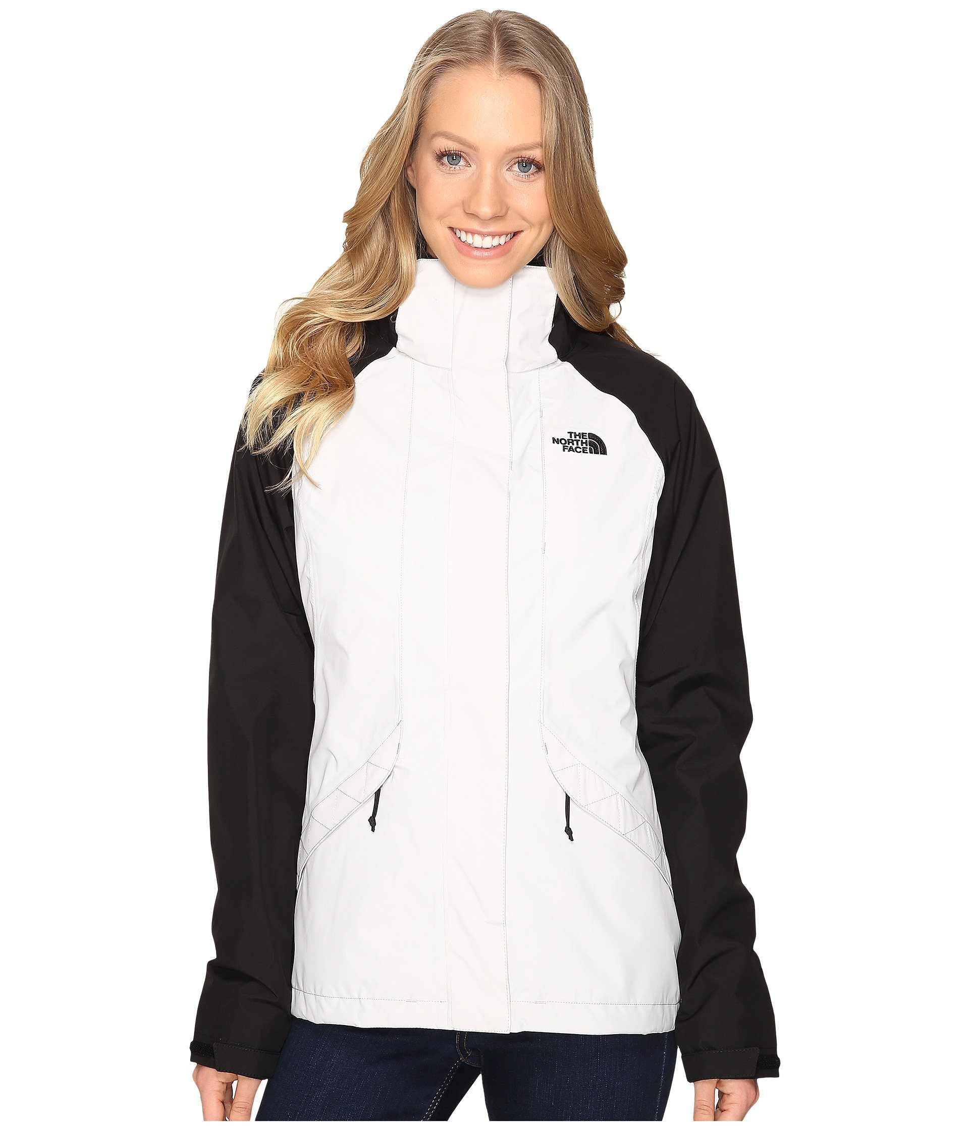 North Face Womens Boundary Triclimate Jacket - Large - Lunar Ice Grey/TNF Black by The North Face (Image #1)