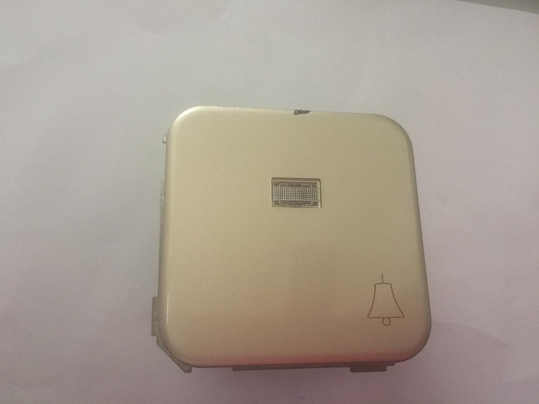 Simon 31660-31 - Pulsador campana luminoso 31660-31